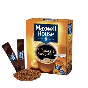 Café Soluble Maxwell House Qualité Filtre - 25 sticks