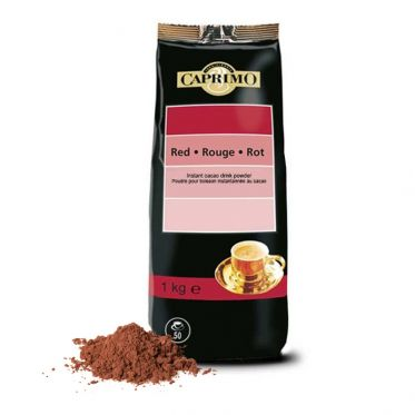 Chocolat Chaud Caprimo Rouge 16% Cacao - 1 Kg