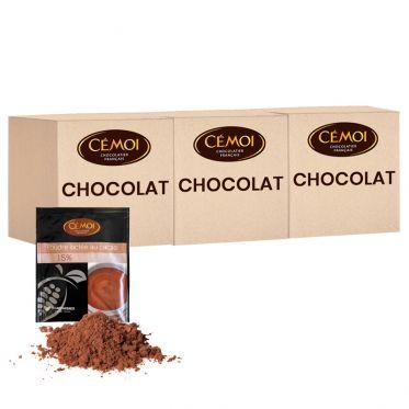Chocolat Chaud Cémoi - 3 boites - 750 dosettes individuelles