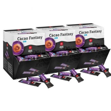 Chocolat Chaud Douwe Egberts Cacao Fantasy - 3 boîtes distributrices - 300 dosettes individuelles