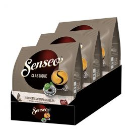 Dosette Senseo Café Classique - 3 paquets - 54 dosettes compostables