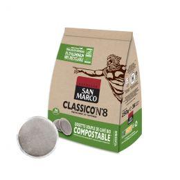 Dosette Senseo compatible Café Bio San Marco Classico n°8 - 36 dosettes compostables