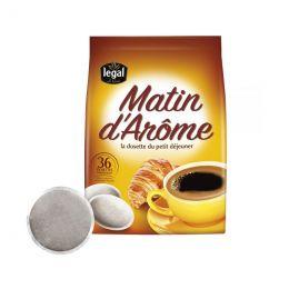 Dosette Senseo compatible Café Legal Matin d'Arôme – 36 dosettes