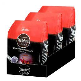 Dosette Senseo compatible Café de Paris Intense - 3 paquets - 108 dosettes