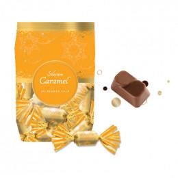 Pochette de Papillotes Révillon : Caramel au beurre salé - 112 gr