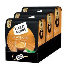 Dosette Senseo compatible Café Carte Noire n°5 Café Classique - 3 paquets - 108 dosettes
