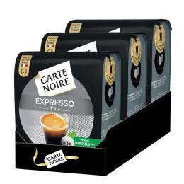 Dosette Senseo compatible Café Carte Noire n°8 Café Expresso Classic - 3 paquets - 108 dosettes