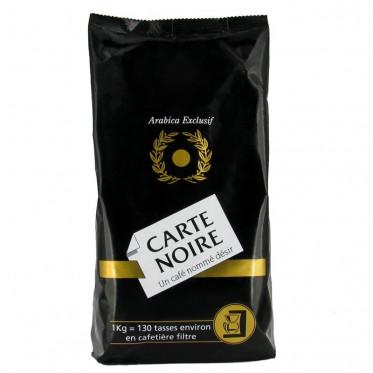 Café Moulu Carte Noire Pur Arabica - 1 Kg