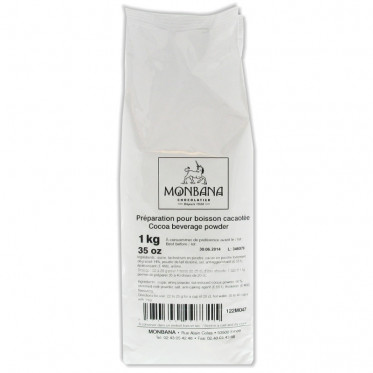 Chocolat Chaud Monbana Arôme Cacao : 1 Kg