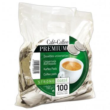 Dosettes Souples Café Premium Strong