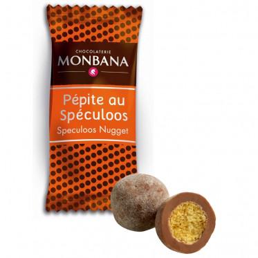 Chocolat en Gros : Monbana Pépites au Spéculoos - 200 pièces