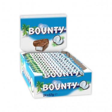 Barre Chocolatée en Gros : Bounty - boite de 24 barres