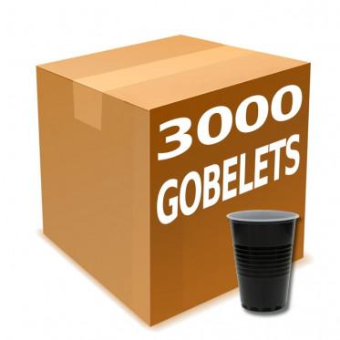 Gobelets Distributeur Automatique Plastique Bicolore 18 cl : 3000 gobelets