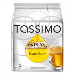 Capsule Tassimo Thé Twinings Earl Grey : 16 tasses