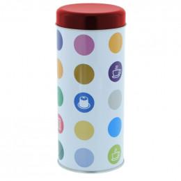 """Accessoires boîte conservartion pour Dosettes """"Confettis"""" : Rouge"""