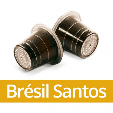Capsule Nespresso Compatible Capsulo Brésil Santos