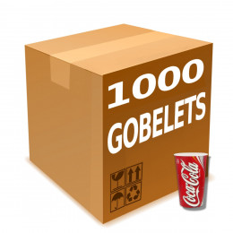 Gobelet en Gros en Carton Coca Cola 40 cl par 1000