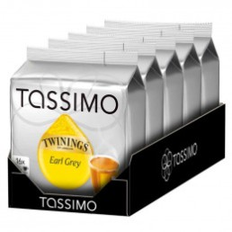 Capsule Tassimo Thé Twinings Earl Grey 5 paquets