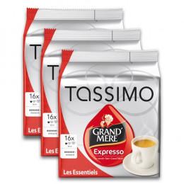 Capsule Tassimo Grand Mère Expresso 3 paquets