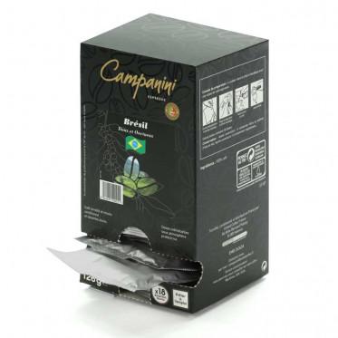 Dosette ESE Campanini Espresso Bresil x 18