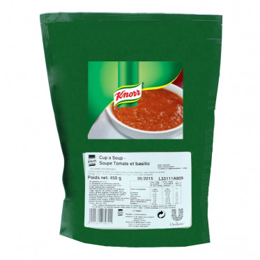 Potage Instantané Distributeur Automatique Knorr Soupe Tomate Basilic - 450 gr