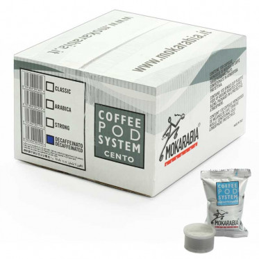 Capsule Lavazza Espresso Point Compatible Mokarabia Deca - 100 capsules