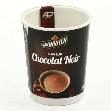 Gobelet pré-dosé premium Van Houten Saveur Chocolat Noir