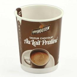 Gobelet pré-dosé premium Van Houten Saveur Chocolat au lait praliné