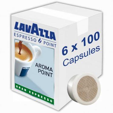 Capsule Lavazza Espresso Point Aroma Point Gran Espresso - 6 boites - 600 capsules