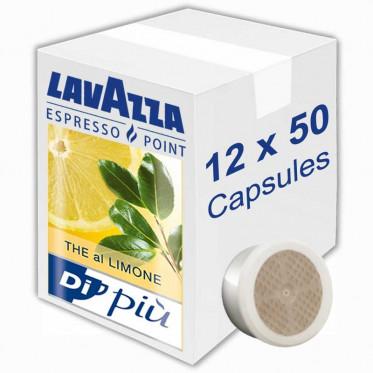 Capsule Lavazza Espresso Point Thé al Limone - 12 boites - 600 capsules