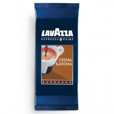 Capsules Lavazza Espresso Point Crema Aroma Espresso : 100 capsules