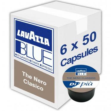 Capsule Lavazza BLUE Thé Nero - 6 boites - 300 Capsules