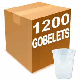 Gobelet en Plastique Transparent 30 cl pour biere 150 verres