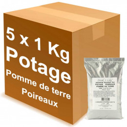 Potage pour distributeur automatique Drink'n Like Soupe Pomme de terre 1 kg