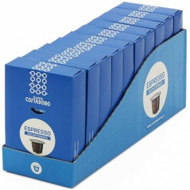 Capsule Nespresso Compatible en gros Costadoro Espresso Décaféinato 10 boites