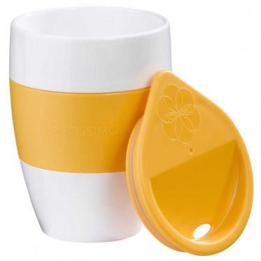 Accessoires Tassimo : Tasse Aroma to Go Jaune - Orange - à l'unité