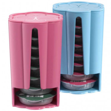 distributeur capsules tassimo rose turquoise 2 x 8 t discs coffee webstore. Black Bedroom Furniture Sets. Home Design Ideas