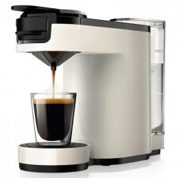 Machine à dosettes Senseo Up Blanc Ivoire : Philips HD7880/11
