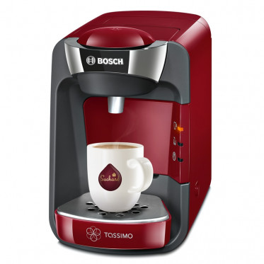 Machine Tassimo Suny Rouge et Chrome : Bosch TAS3203