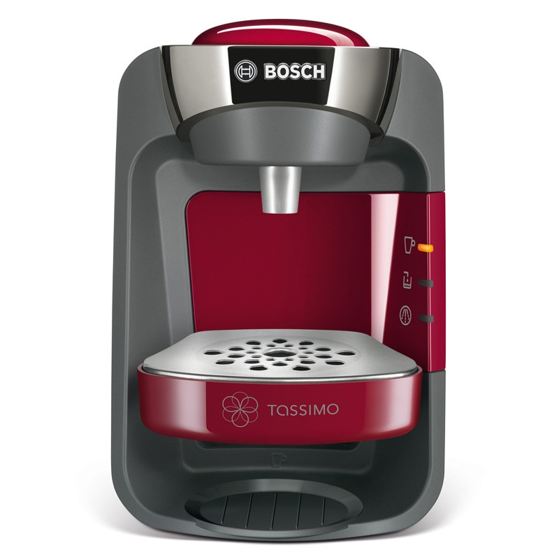 machine tassimo suny rouge et chrome bosch tas3203 tassimo. Black Bedroom Furniture Sets. Home Design Ideas