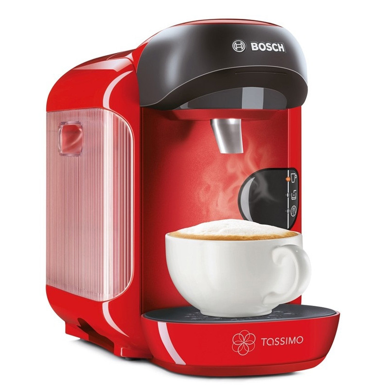 machine tassimo vivy rouge vif bosch tas1253 coffee. Black Bedroom Furniture Sets. Home Design Ideas