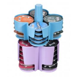 Tassimo Caroussel de T-Discs 40 T-Discs Bleu - Violet