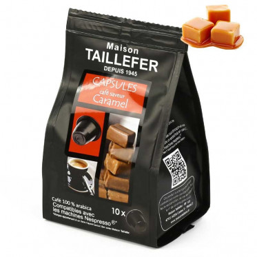 capsule nespresso compatible maison taillefer caf caramel. Black Bedroom Furniture Sets. Home Design Ideas