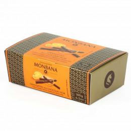Chocolat Monbana : Ballotin d'Orangette au Chocolat Noir - 180 gr