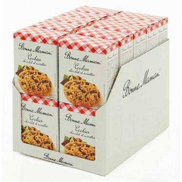 Biscuit en gros Bonne Maman : Cookies Chocolat et Noisettes - 20 boites - 40 pièces