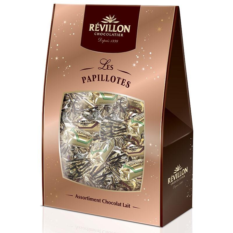 pochette de papillotes r villon assortiment chocolat au lait 460 gr r villon. Black Bedroom Furniture Sets. Home Design Ideas