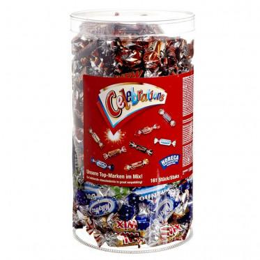 Barre Chocolatée : Tubo Célébration 1,5 kg - 161 pièces