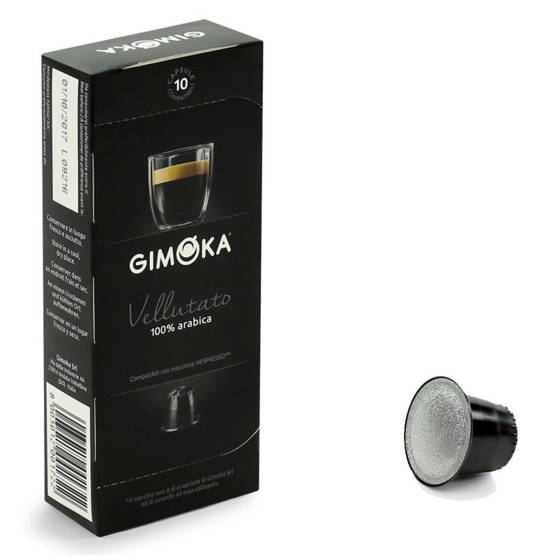 capsule nespresso compatible gimoka vellutato 20 boites 200 capsules. Black Bedroom Furniture Sets. Home Design Ideas