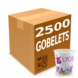 Gobelets Distributeur Automatique en Carton 15 cl -  French Collection Lyon - par 2500