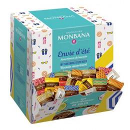 Biscuits Monbana Accompagnement Café Collection Envie d'été 200 Pièces